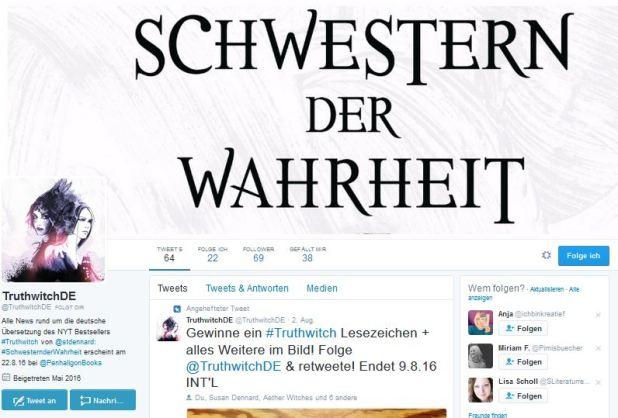 Blogger Twitter